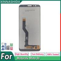 Pantalla LCD para Motorola Moto E6, recambio de conjunto de pantalla táctil