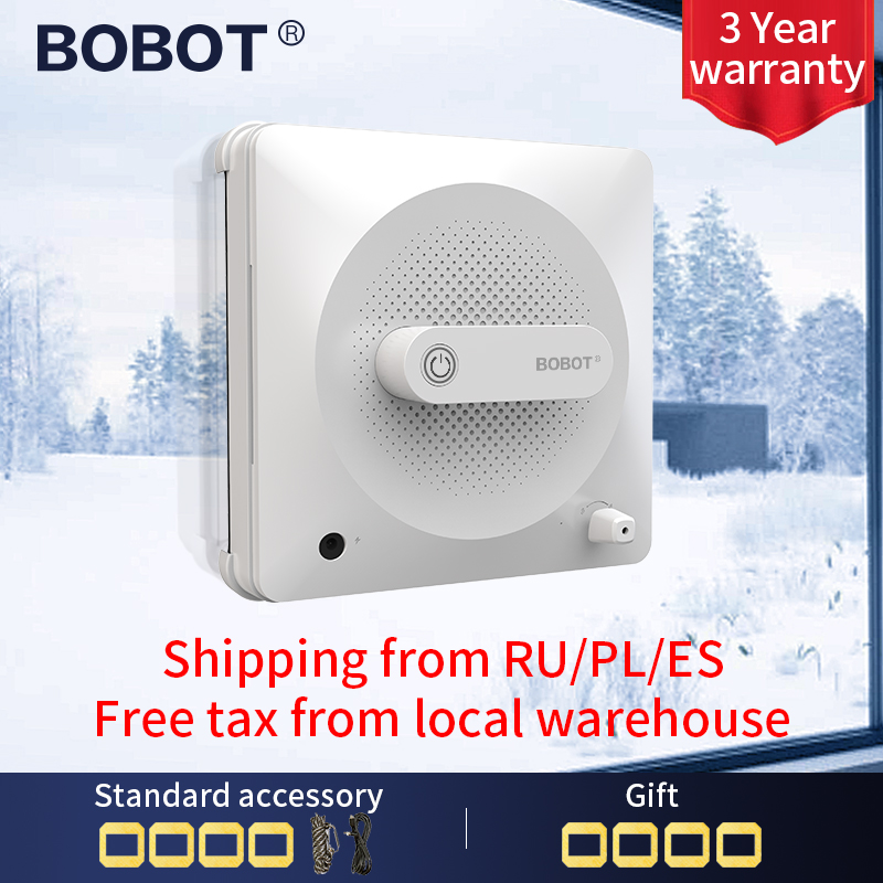 BOBOT Window Vacuum Cleaner Robot Window Robot Cleaner Window Glass Cleaning Electric Strong Suction