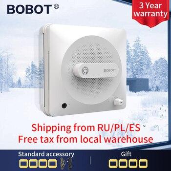 Robot aspiradora de ventanas BOBOT, limpiador de ventanas, limpieza de cristales, succión eléctrica fuerte