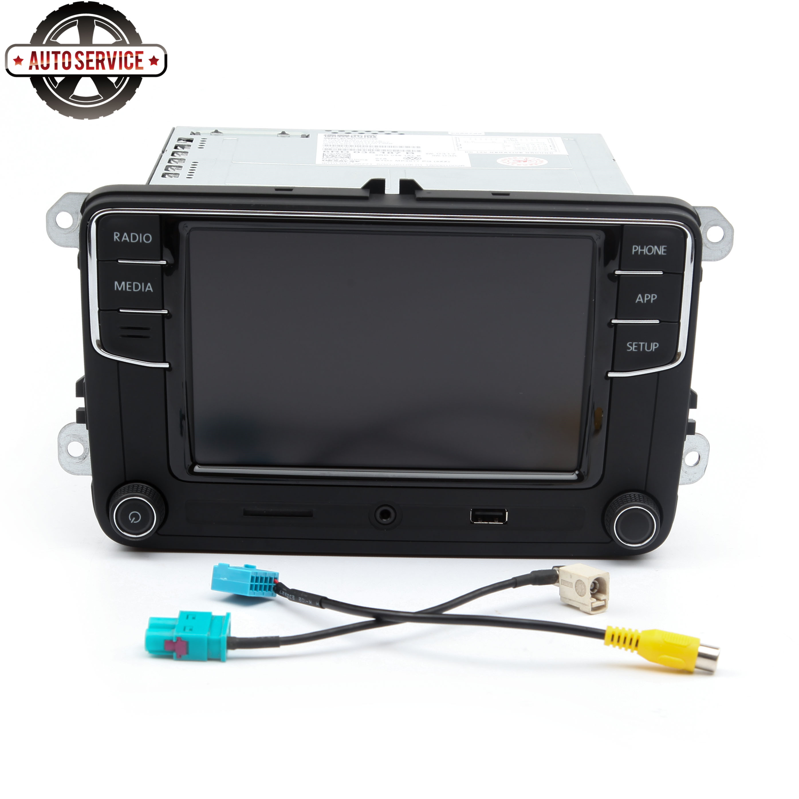 Nuevo RCD330 más RCD330G Carplay MIB 6,5 pulgadas Radio para Jetta MK5 MK6 CC Passat 6RD035187B 1GB de RAM cámara de Vista trasera Bluetooth USB - 2