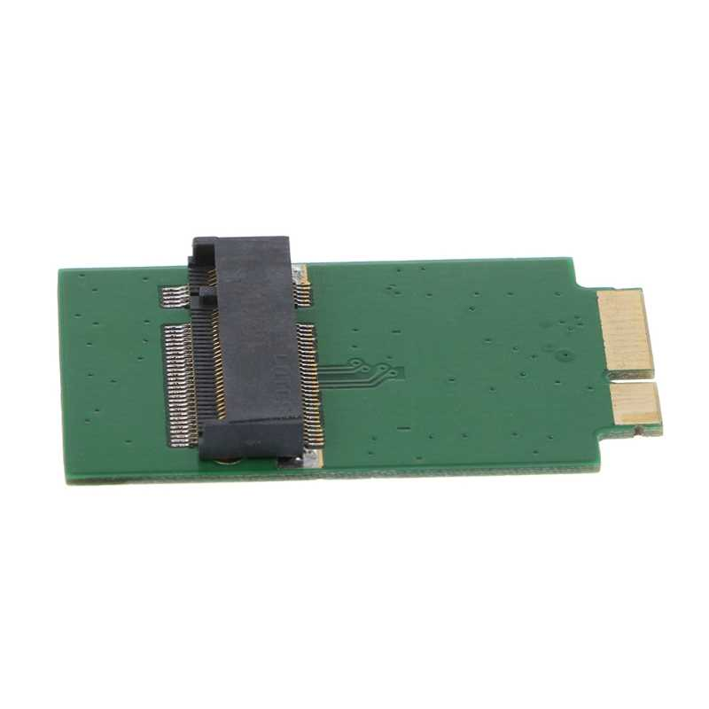M.2 NGFF SSD 12 + 6 PIN ADAPTER BOARDสำหรับMacBook Air 2010 2011 A1370 A1369 N84A