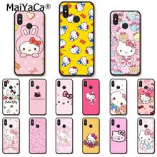 Maiyaca Hello Kitty Phone Case untuk Xiaomi MI5 6 A1 A2 Lite Mi9 9SE Mi8lite F1 Mix2 2S Max2 3(China)