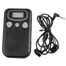 VKTECH-Audífono con pantalla portátil amplificador de Sonido Personal, ayuda auditiva para ancianos, para la audición de los ancianos, pérdida voluminosa, Ajustable, novedad