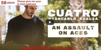 Cuatro autorstwa Giancarlo scalii-magiczne sztuczki tanie i dobre opinie Other CN (pochodzenie) Unisex Nauka ŁATWE DO WYKONANIA Beginner Profesjonalne Dla magików ulica Etap Różne rekwizyty