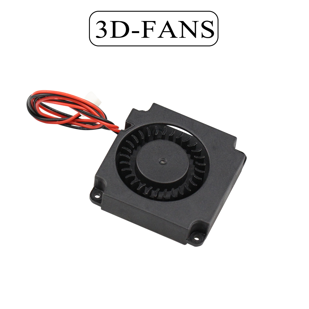 3D Printer 5V / 12V 24V Turbine Fan 40mm * 10mm 4010 DC Turbo Fan 5V Bearing Blower Radial Cooling Fans For Creality CR-10 Kit