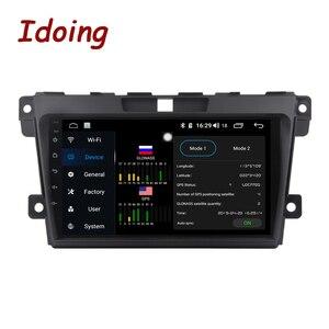 Image 4 - Idoing 2.5d ips tela do carro android rádio leitor de vídeo multimídia para MazdaCX 7 cx 7 cx7 4g + 64g navegação gps não 2 din dvd 4g