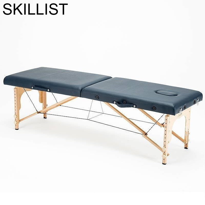 Furniture Dental Foldable Tafel Cama Para Masaje De Pliante Lettino Massaggio Beauty Table Folding Salon Chair Massage Bed