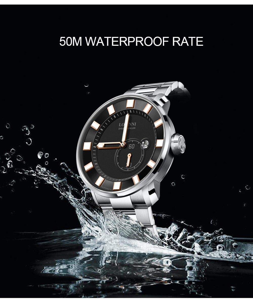 prova dwaterproof água mulher relógios luminosos mãos