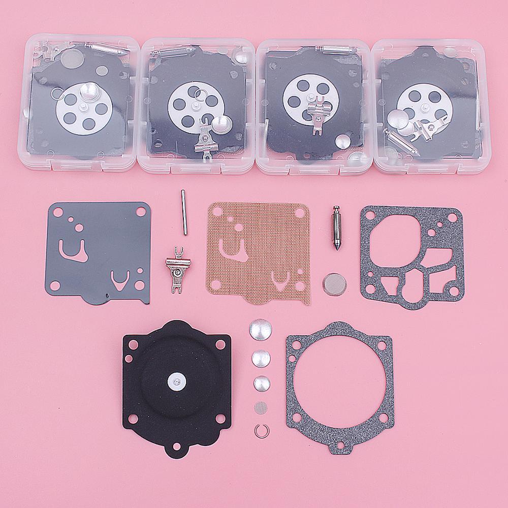 5pcs/lot Carburetor Diaphragm Rebuild Repair Kit For Stihl 066 050 051 056 064 076 MS660 Walbro 11-WJ Chainsaw Tool Parts