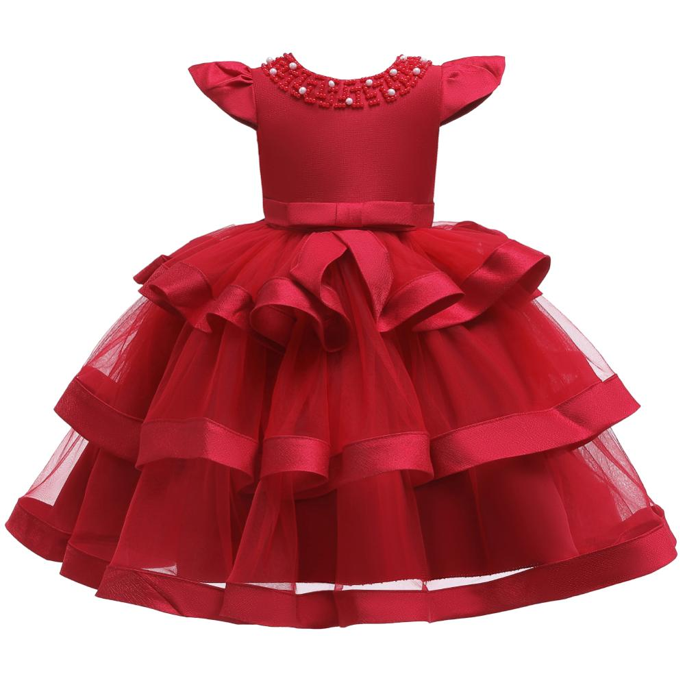 Girls Dress Elegant New Year Princess Children Party Dress Wedding Gown Kids Dresses for Girls Birthday Party Dress Vestido Wear 13