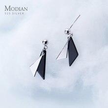 Modian Мода 925 стерлингового серебра минималистский с геометрическими