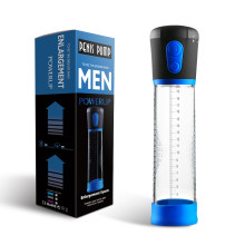 Bomba de ampliação do pênis automático bomba ampliador sucção a vácuo pênis extensor vibrador sexo brinquedos produtos adultos para homem exercício