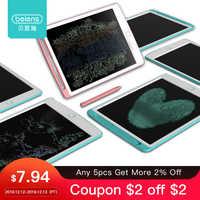 Beiens 8.5-12 pouces LCD dessin tablettes jouets manuscrit Pad début éducatif planche à dessin pour enfants tableau d'écriture enfant cadeau