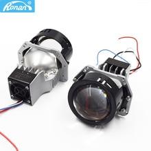 Ronan 3.0 OS RAM Chip Bi Led Projector Headlight Lenses 5500K for Hella 3r G5 Headlights Retrofit Modify Universal Car Styling