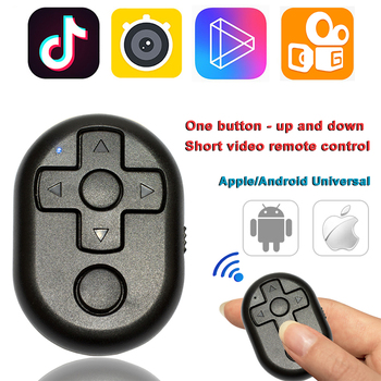 Multi-function Self Timer Remote Control Video Page Turning Shutter Bluetooth Self-timer For IPhone 7 X Samsung HuaWei Xiaomi image