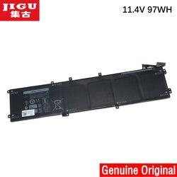 JIGU 11,1 V 97WH Original 6GTPY 5XJ28 batería del ordenador portátil para Dell Precision 5510 XPS 15 9550 9560 6GTPY 5XJ28 batería de la tableta del ordenador portátil