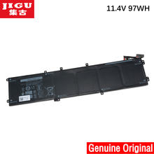 JIGU 11.1V 97WH oryginalny 6GTPY 5XJ28 Laptop bateria do dell Precision 5510 XPS 15 9550 9560 6GTPY 5XJ28 Laptop bateria tableta(China)