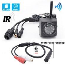 HQCAM cámara IP de visión nocturna para exteriores, Audio 720P, 960P, 1080P, WIFI, observación de aves, cámara resistente al agua, Wifi