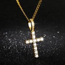 Модные ожерелья с подвеской крестом на ногу циркониевая цепочка