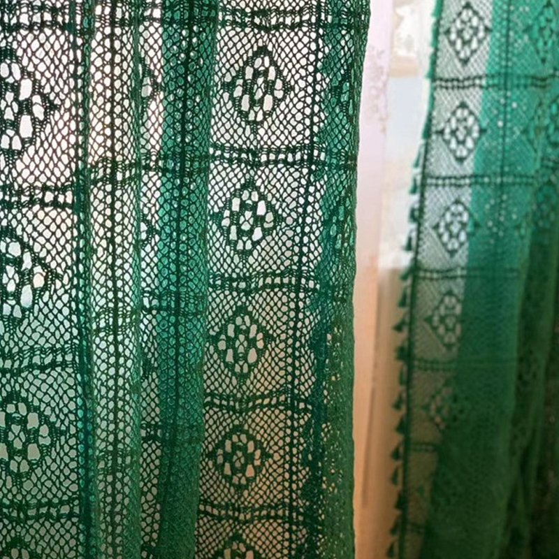 check MRP of green curtains for summer