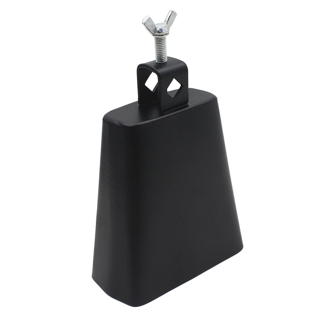 1PC 5 Inch Metal Cowbell Cow Bell Mountable Mallet Percussion Instrument For For Drum Kits Or Percussion