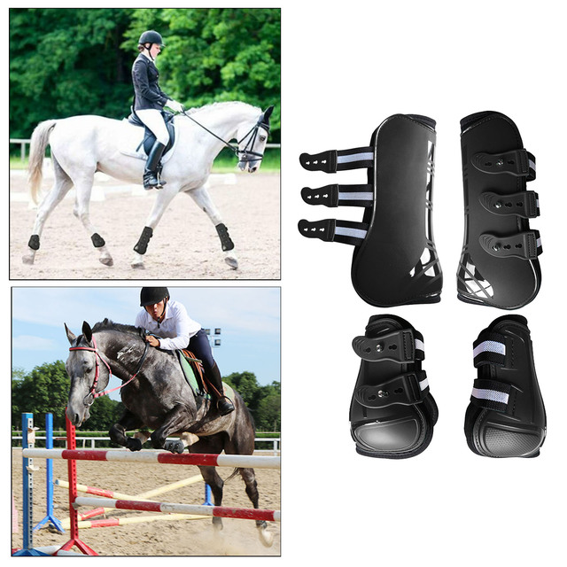 Tendon Boots Fit Snuggly For Your Horses Protection  6