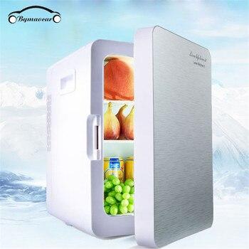 Car refrigerator 20L home / car dual-use mini cold and warm box 42 * 27 * 33CM car refrigerator 7 5l 4 l car refrigerator mini home dual heating and cosmetic breast insulin refrigerated box