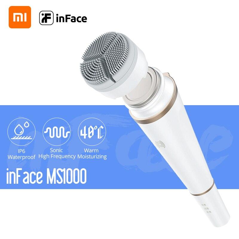 Xiaomi InFace электронный звуковой косметический прибор для ухода за лицом глубокое очищение лица Уход за кожей Массажер для очистки масла грязи