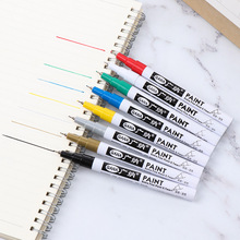 1 PC 0.7mm Metallic Markers Non-toxic Paint Marker Graphic Drawing Permanent Marker Fast Dry DIY Art Marker 8 Colors to Choose