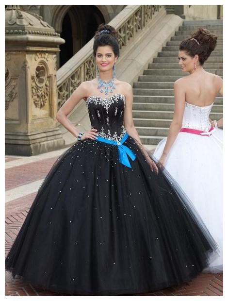 Sweetheart Beaded Sleeveless Crystal Puffy Floor Length Quinceanera Prom Gown 2018 Vestido De Noiva Mother Of The Bride Dresses