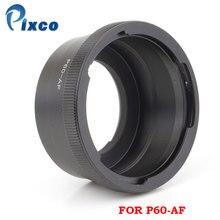 Pixco P60-AF Suit For Pentacon 6 Kiev 60 lens to Sony Alpha Minolta Adapter цена 2017