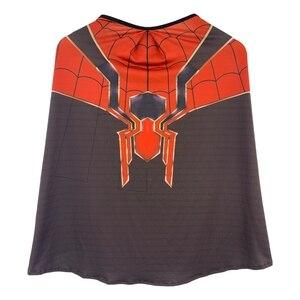 Image 2 - Kids Spider Zentai Unisex Halloween Zentai Cosplay Costume Spider Spandex Lycra Bodysuit Jumpsuits Iron Spider
