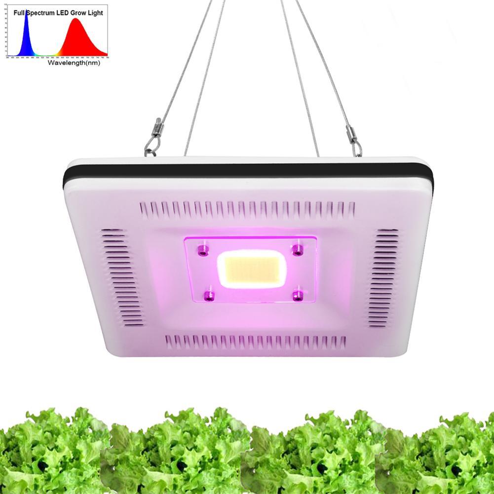 500w COB LED Grow Light Full Spectrum Plant Grow Lamp Waterproof Ultrathin Plant Lamp For Indoor Flowers AC 185-265V