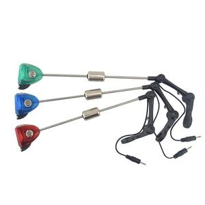 Image 5 - Hirisi Carp fishing bite alarm 8 LED with fishing swingers indicator for carp fishing