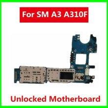 Placa base desbloqueada para Samsung Galaxy A3, A3000, A300F, A310F, a320f, con Chips completos, placa lógica de repuesto, sistema operativo Wish