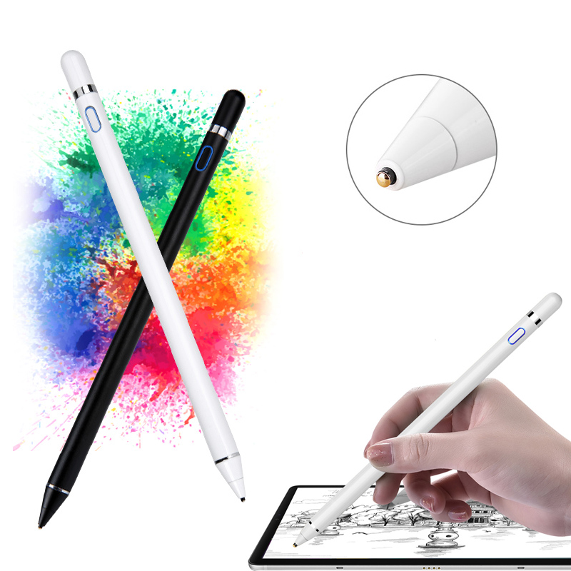 Universal Active Stylus Pen For Xiaomi Huawei Samsung iPhone Tablet Smart Touch Pencil For Apple iPad Only For Capacitive Screen|  - title=