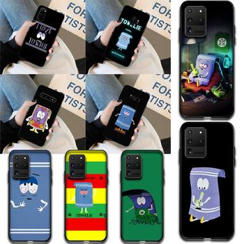 HPCHCJHM New towelie episode Anti-dirty DIY Painted Bling Phone Case for Samsung S20 plus Ultra S6 S7 edge S8 S9 plus S10 5G image