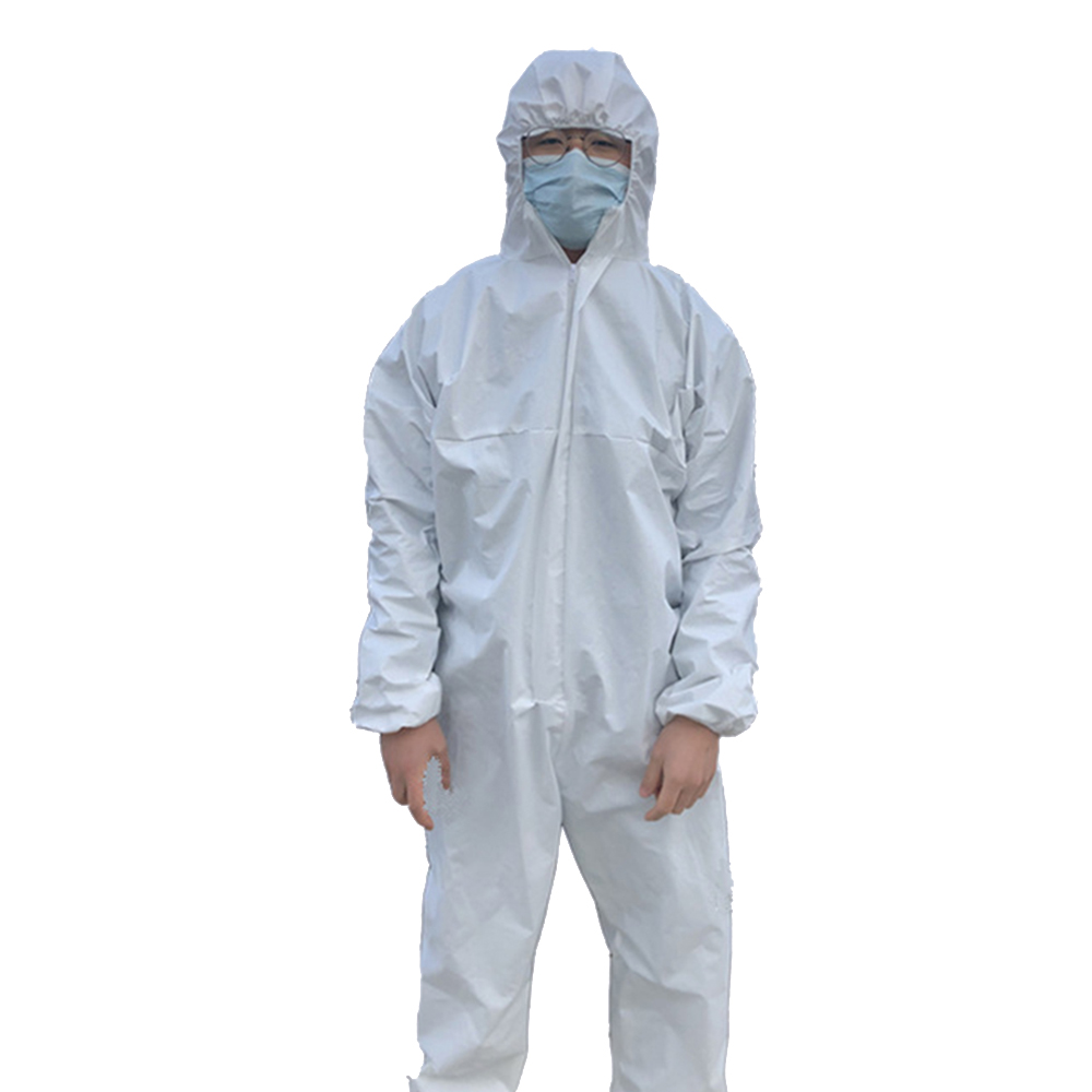 Hazmat Suits Protective Clothes Reuseable Isolation Suit One-piece Full Body Washabhooded Thickened Isolation Clothing Gas Anti