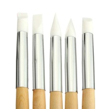 High Quality Nail Art Tool Silicone Dotting Carving Emboss Craft Manicure Pen Brushes