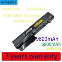Bateria para HP COMPAQ EliteBook 2530p nc2400 nc2410 2510p 2533t LAPTOP HSTNN-FB21 404866-622 411126-001 HSTNN-DB22 FB21 PC