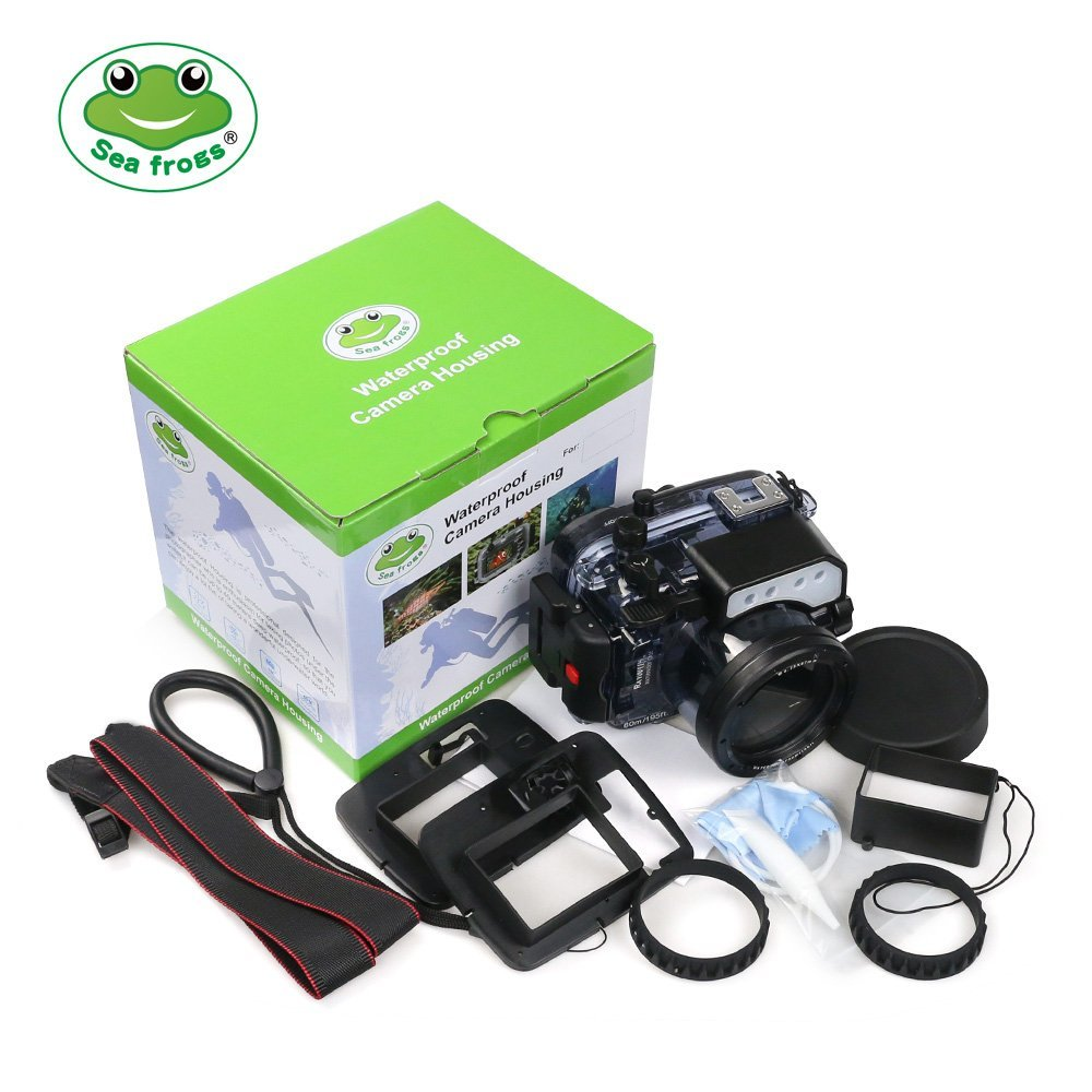 Image 5 - Seafrogs 60m/195ft Underwater Camera Housing for Sony DSC RX100(I V) M2 M3 M4 M5Camera/Video Bags   -