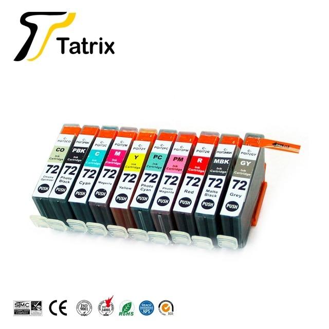 Tatrix PGI72 PGI 72 Color Compatible Printer Ink Cartridge for Canon PIXMA Pro 10 Pro 10 PRO 10S PRO 10S