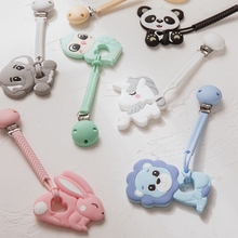 Baby Teething-Chain Silicone Pacifier-Chains 1pcs Bunny