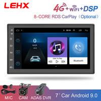 LEHX Auto Radio 2 Din Android 9, 0 Auto-Multimedia-Player Autoradio 2din dvd Player Für