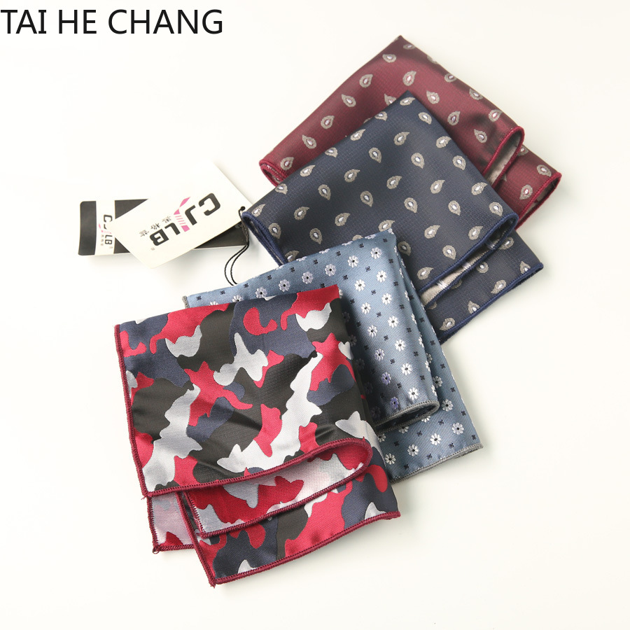 100pcs/lot 22colors Can Choice New Korean Fashion Designer High Quality Pocket Square Handkerchief Men's Business Suit Pocket
