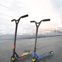 Scooter Bravata Professionale Freestyle Strada Surf Scooter Prodezza Skateboarder Bmx Ruota Professionale Sport Estremo Scooter(China)