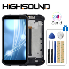 For Blackview BV9500 Pro LCD Display and Touch Screen 5.7 With Frame +Tools +Film Assembly For Blackview BV9500 pro