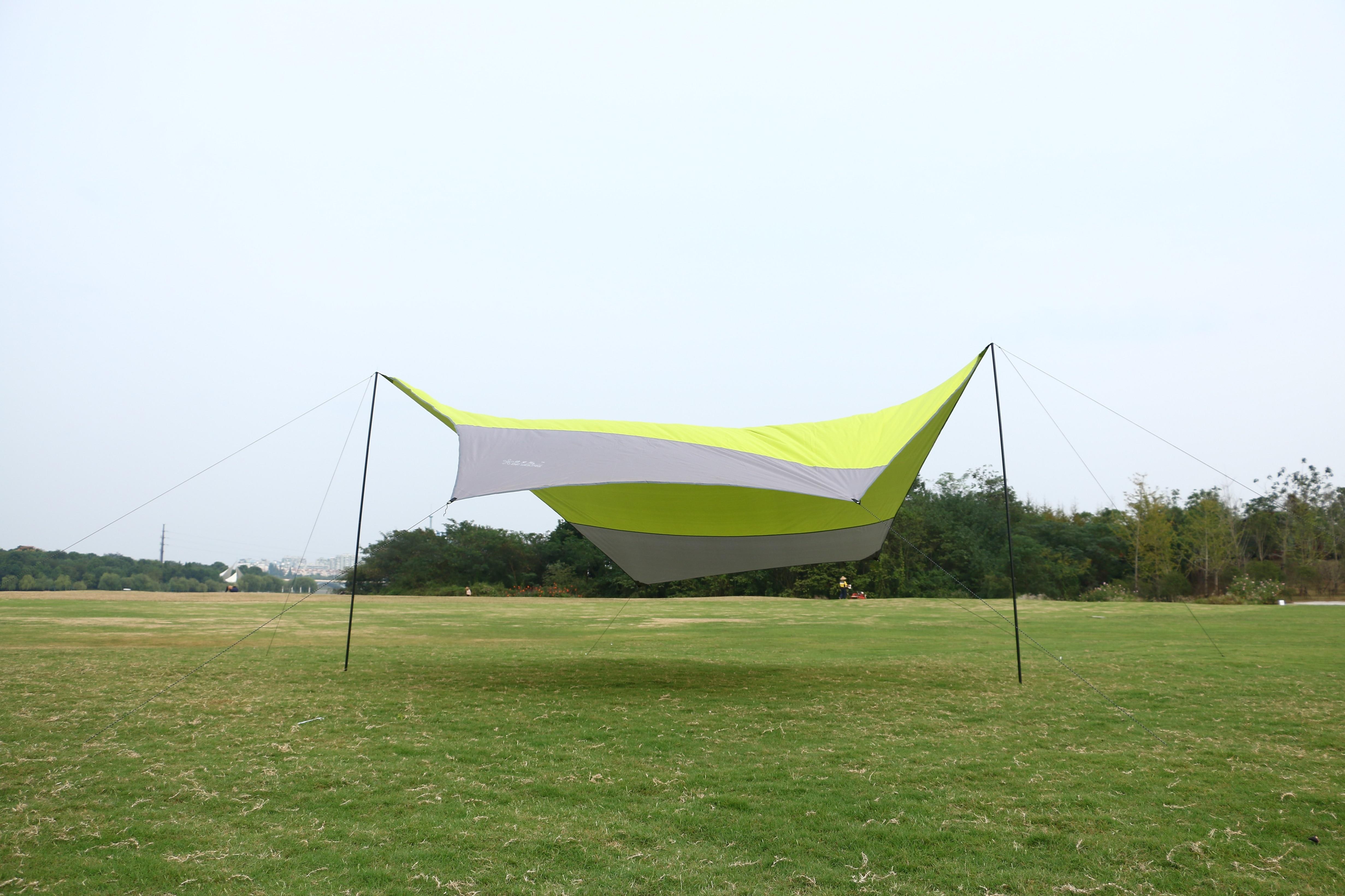 Outdoor zonwering doek voor 5 mensen chatten en thee 5 meter open maat gebruikt in camping en picknick, gratis verzending - 2