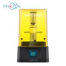 Anycubic Photon Mono – imprimante 3d, 6 pouces, 2k, écran LCD Monochrome, vitesse d'impression rapide, 8x, Kit d'impression 3d, Anti-basculement SLA, impresora 3d