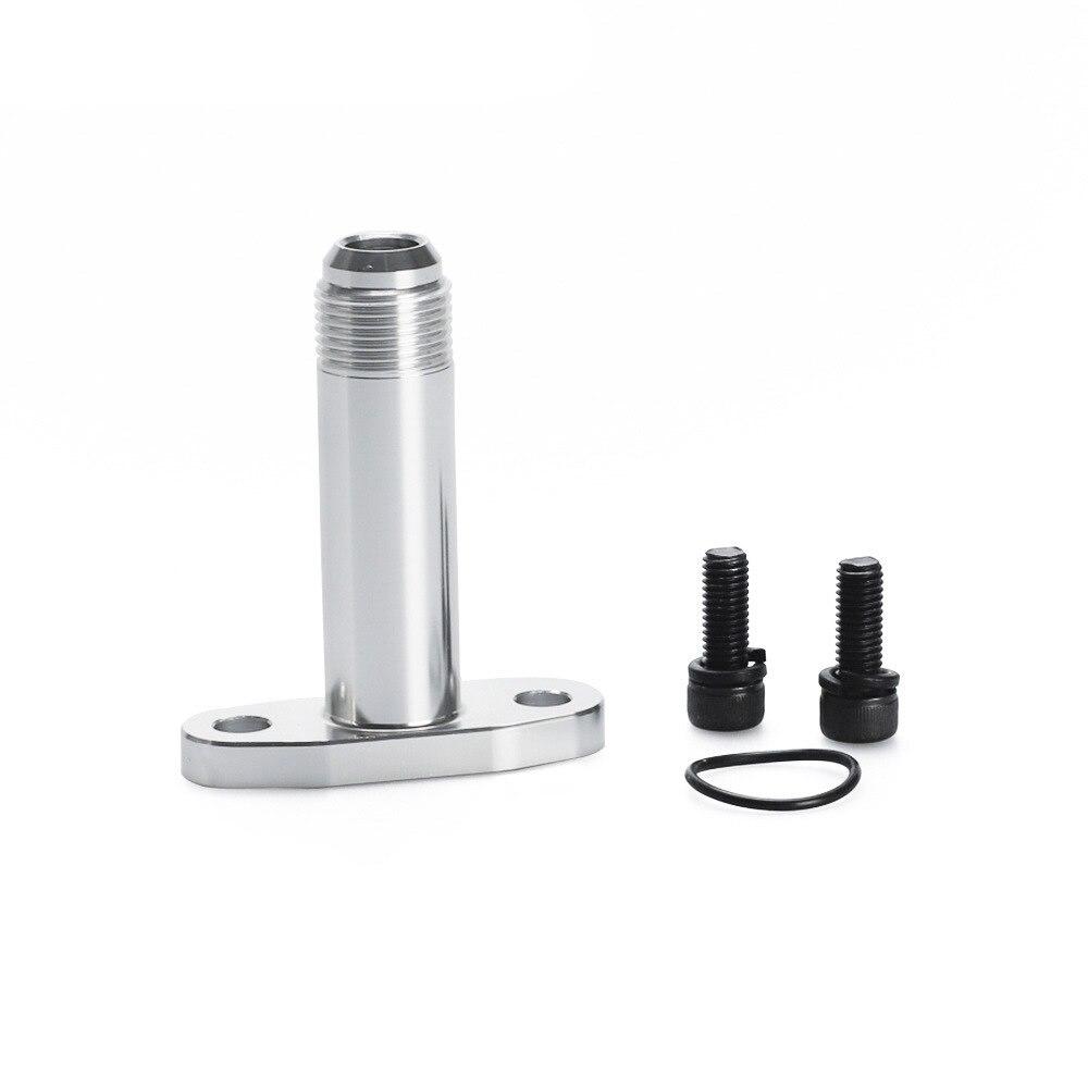 Фланцевый адаптер для турбокомпрессора для слив масла из турбины Joint 10AN T3/T4